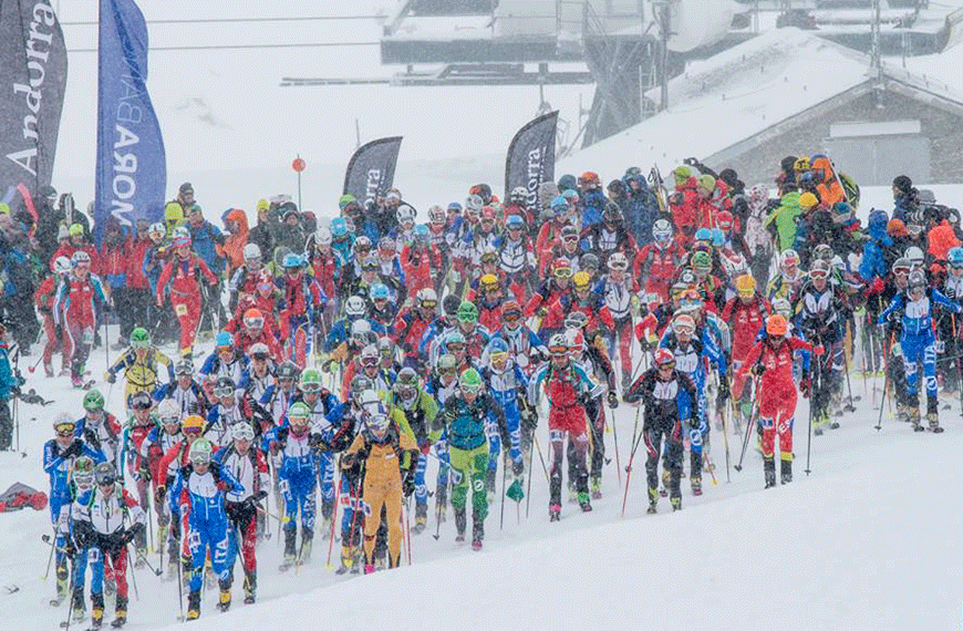 Saturday 26th at Ordino-Arcalís and Sunday, 27th January at Vallnord Pal-Arinsal, La Massana the second round of the ISMF Mountain World Cup is in Andorra.  As in previous editions, the 2019 Fuente Blanca (White Fountain) will consist of two races: Individual and Vertical. The Individual will have the Ordino-Arcalís station for its stage. On the other hand, the Vertical will be on Sunday 27, in the Arinsal sector of Vallnord Pal-Arinsal The two competitions will be between the best male and female competitors of the specialty in the senior, junior and cadet categories.  The calendar of the Mountain Ski World Cup 2019 of the ISMF consists of 5 additional competitions:  Hochkönig Erztrophy (Bischofshofen, Austria);  La Grande Trace Dévoluy Eté (Le Dévoluy, France);  Beidahu (Jilin, China);  The Trophy Péz Ault (Disentis, Switzerland);  And, to close the calendar, the Ski Alp Race Dolomiti di Brenta (Madonna di Campiglio, Italy).